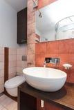 Spacious apartment - Wash basin Royalty Free Stock Photography