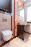Spacious apartment - Bathroom Stock Photos