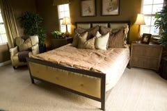 Spacious bedroom Stock Photo