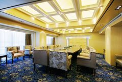 Spacious and bright meeting rooms Royalty Free Stock Image