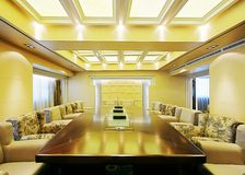 Spacious and bright meeting rooms Royalty Free Stock Photo