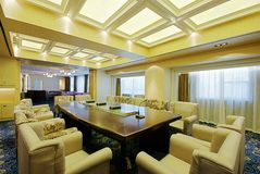 Spacious and bright meeting rooms Stock Image