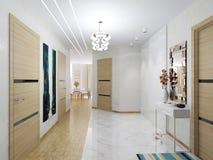 Spacious corridor Stock Photography