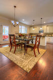 Spacious Country Dinning Room Stock Image