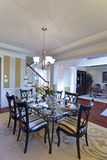 Spacious Country Dinning Room Stock Photos
