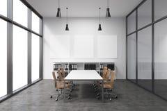 Spacious empty meeting room Royalty Free Stock Photos