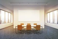 Spacious empty meeting room Stock Photos