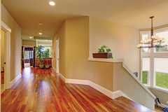 Spacious hallway in luxury house Stock Photo