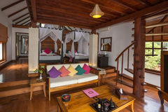 Luxury Hotel Room - Myanmar (Burma) Stock Photo