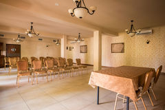Spacious interior for business conference Royalty Free Stock Photography