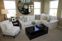 Spacious living room Stock Photography