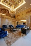 Spacious living room Royalty Free Stock Photo