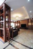 The spacious living room Stock Photo