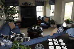 Spacious living room Stock Photos
