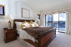 Spacious master bedroom Royalty Free Stock Photo