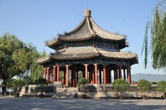Spacious Pavilion(Kuoru Ting) in Summer palace Stock Images