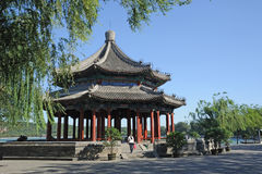 Spacious Pavilion(Kuoru Ting) in Summer palace Stock Image