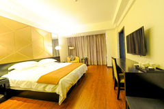 Spacious room of a hotel Royalty Free Stock Photo