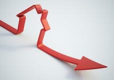 spadać domowe sprzedaże Obraz Stock