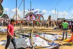 Spadać kania, Gigantyczny kania festiwal, Wszystkie świętego dzień, Gwatemala Fotografia Stock