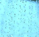 spadać kropli woda Zdjęcie Royalty Free