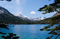 Spadać Liść jezioro Obraz Stock