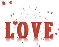 spadać miłość Zdjęcia Stock
