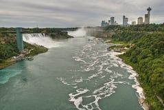 spadać Niagara Ontario zdjęcia stock