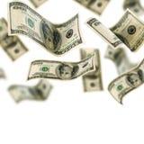 spadać pieniądze zdjęcia royalty free