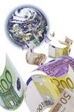 spadać pieniądze obrazy stock