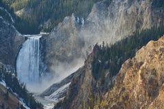 spadać Yellowstone obraz stock