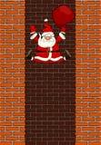 Spada Święty Mikołaj ilustracji