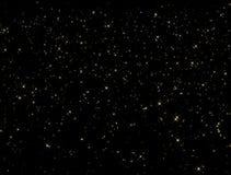 Spada błyskotanie gwiazd pętla ilustracji