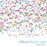 Spada confetti wzór Zdjęcie Royalty Free