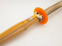Spada di bambù Fotografie Stock