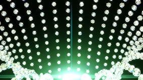 Spada diamenty, piękny tło Bezszwowa zapętlająca animacja ilustracji
