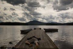 Spada duch - brak siła, depresja, nałóg zdjęcia royalty free