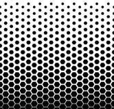 Spada hexes w stylu Mentis Piksel Abstrakcjonistycznej mozaiki tła Gradientowy projekt Abstrakcjonistyczny modnisia tło Obraz Stock