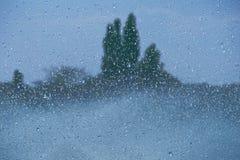 Spada krople fontanna Zdjęcia Stock