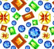 Spada Multicolor klejnoty ilustracyjni Zdjęcia Stock