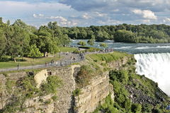 spadać Niagara Obraz Royalty Free