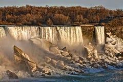 spadać Niagara Zdjęcia Royalty Free