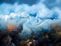 Spada nieba royalty ilustracja