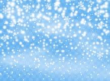 Spada płatek śniegu płatki na odosobnionym tle, miecielica z wiatrem Narzuta projekta element Święta dekorują odznaczenie domowyc ilustracja wektor