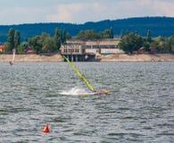 Spadać windsurfer Zdjęcie Stock