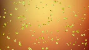 Spadające liście jesienne zbiory