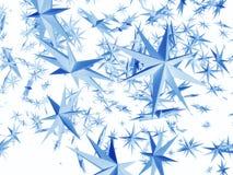 spadające gwiazdy royalty ilustracja