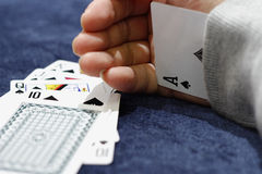 Spade ace Stock Photography