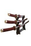 Spade del samurai Fotografia Stock Libera da Diritti
