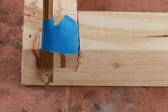 Spade drill bit Stock Image